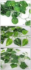 Künstliche Efeu Efeugirlande Efeuranke Kunstpflanzen ca.205cm lang