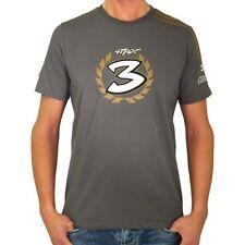 New Official Max Biaggi Grey T-Shirt
