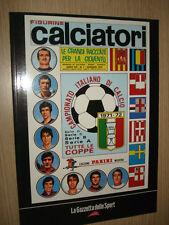 ALBUM PANINI CALCIATORI 1971 1972 GAZZETTA RISTAMPA FIGURINE