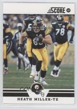2012 Score Glossy #190 Heath Miller Pittsburgh Steelers Football Card