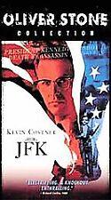JFK (VHS, 2001, 2-Tape Set, Oliver Stone Collection) VHS TAPE John Kennedy