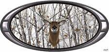 Deer buck snow camouflage hunting vinyl graphic decal sticker