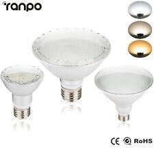 Dimmable E27 LED Spot light Bulb 14W 24W 30W PAR20 PAR30 PAR38 White Lamp Bright