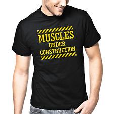 Muscles under Construction | Sport | Gym | Fun | Sprüche | S-XXL T-Shirt