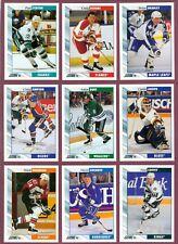 1992-93 SCORE USA NHL HOCKEY CARD 257 TO 384 SEE LIST
