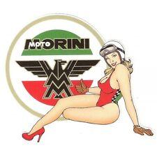 MOTO MORINI left Pin Up gauche Sticker