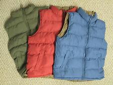 Weatherproof Mens Outdoor  Vest Medium Large XL XXL Red Blue Green NEW
