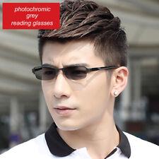 Men's Outdoor Photochromic Reading Glasses UV400 Eyewear Driving Single Vision