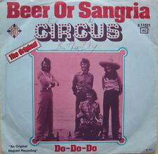 """7"""" 1975 RARE Dutch POP! Circus beer or Sangria/MINT - \"""