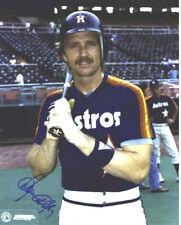 Alan Ashby Houston Astros Autographed Signed 8x10 Photo COA