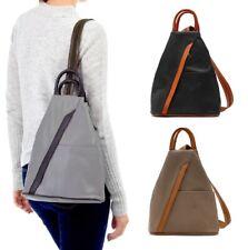 Italian Leather Handbag Vera Pelle Soft Italian Shoulder Bag / Backpack Ladies