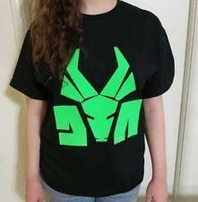 Neon Green DIE ANTWOORD T-shirt Hip-hop rap ZEF SIDE Ninja Yolandi