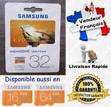 Carte Mémoire 48 MB/s SAMSUNG EVO Micro SD SDHC 32 Go Class 10 - aussi 16 64 Gb