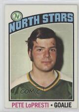 1976-77 Topps #184 Pete LoPresti Minnesota North Stars RC Rookie Hockey Card