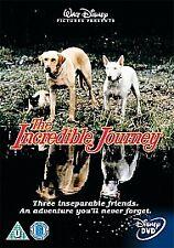 Walt Disney's The Incredible Journey DVD UK R2 PAL Homeward Bound Original Dogs