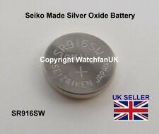 Seiko Made Silver Oxide Battery 373 SR916SW SR916