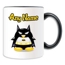 Personalised Gift Batman Penguin Mug Money Box Cup Movie Hero Avengers Superhero