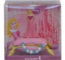Figurine DISNEY La Belle au Bois Dormant AURORE sur un Oreiller Trésor Bracelet