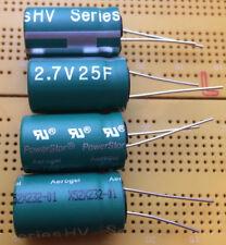 25F 2.7V Supercapacitor PowerStor HV1625-2R7256-R Power Backup Job Lot Multi Qty