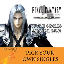 Final Fantasy OPUS 3 Singles (Non-Foil C-R-H)