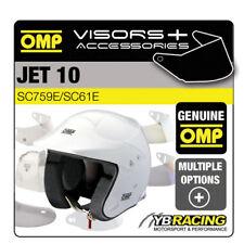 OMP Jet 10 Open Face Rally casco extra opcional viseras y Accesorios omp