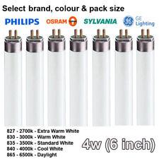 4w 15.2cm T5 Tubo Fluorescente - Colores: 827 830 835 840 865 - a Elegir Marca
