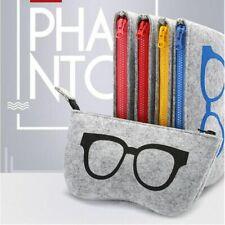 Fashion Zipper Eye Glasses Sunglasses Case Pouch Bag Box Storage Protector