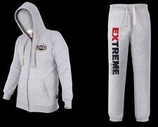 MAXX Uomo Tuta Da Ginnastica Maglione JOGGING FELPA PANTALONE pantaloni MMA Boxing Gym Carta