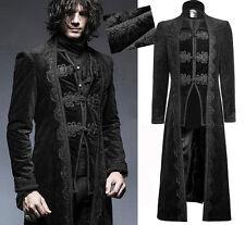 Manteau long veste gothique dandy baroque jaquard broderies Punkrave Homme