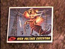 MARS ATTACKS #40 TRADING CARD 1962 TOPPS