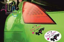 DA 208 Roller Queen on tour Derby Aufkleber Auto Autoaufkleber KFZ Sticker