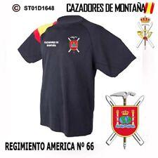 CAMISETAS TECNICAS CAZADORES DE MONTAÑA: REGIMIENTO AMERICA Nº 66  M1