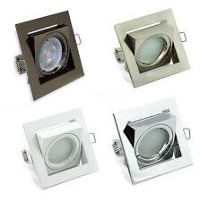 5X Directional Ceiling Spotlights Recessed Downlight Lights Square Tilt LED