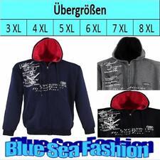lavecchia Übergröße Designer Sweatshirt Jacke Hoodie Kapuze Shirt 3 4 5 6 7 8 XL