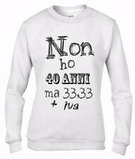 Felpa da girocollo Fashion:40 ANNI