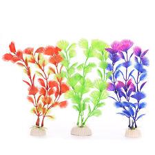20 cm plantas de plástico adorno decoración de agua para acuario acuario GN