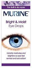 Murine Bright and Moist Eye Drops 15ML | Lubricate | UK PHARMACY STOCK