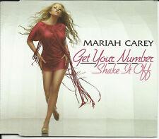 MARIAH CAREY Get Your Number & Shake It Off  2TRX UK CD Single SEALED USA SELLER