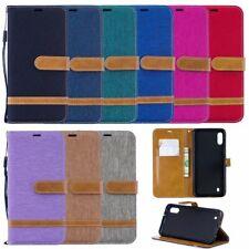 Handy Hülle Case #M41 Jeans zu SAMSUNG GALAXY M10 Schutz Tasche Smartphone Flip