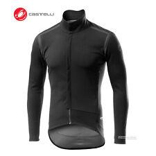 Castelli PERFETTO ROS LONG SLEEVE Wind/Rain Jacket/Jersey : LIGHT BLACK/REFLEX