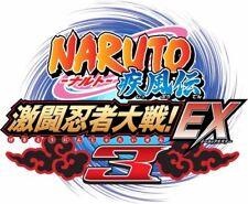 Naruto Shippuden: Gekitou Ninja Taisen EX3 (Nintendo Wii, 2008)