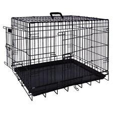 NOBBY Cage de transport pliable noir, différentes tailles, NEUF