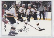 1998-99 Pacific #41 Jason Allison Boston Bruins Hockey Card
