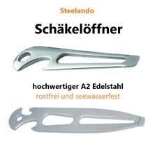 Schäkelschlüssel Edelstahl rostfrei Schraubenschlüssel Flaschenöffner Werkzeug