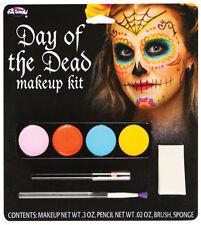 Halloween Maquillaje Kits-Fancy Dress cremallera Kits Zombie Pirate Diablo Zombie Doll