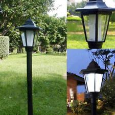 Outdoor Courtyard Lamp Solar Hexagonal Floor LED Garden Light Landscape Light x