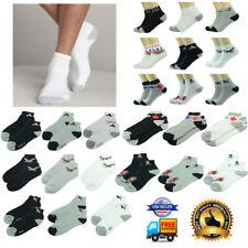 Wholesale Men Multi Color Pattern Ankle Quarter Cotton Sport Socks 9-11 10-13