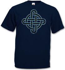 Nudo celta LOGO SIGN X CAMISETA T-SHIRT - Cruz Cross Triskel 3XL