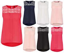 Mujer Camisa Túnica Blusa onlvenice S/L ENCAJE extremidad superior