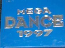 MEGA DANCE 1997 (2 CD) Aqua, Wes, Sash!,, Red 5, MC Lyte.. in original Blue Box!